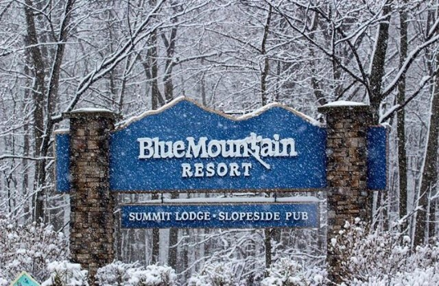 Blue Mtn PA Sign